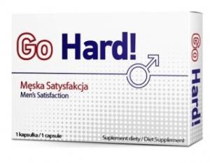 Tabletki na potencję Go Hard - zawiodłem się
