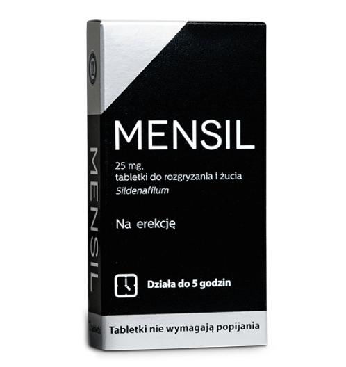 Mensil tabletki na potencję