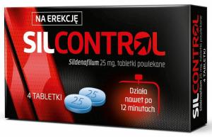 Tabletki na potencję Silcontrol - opinie o nieskutecznym preparacie